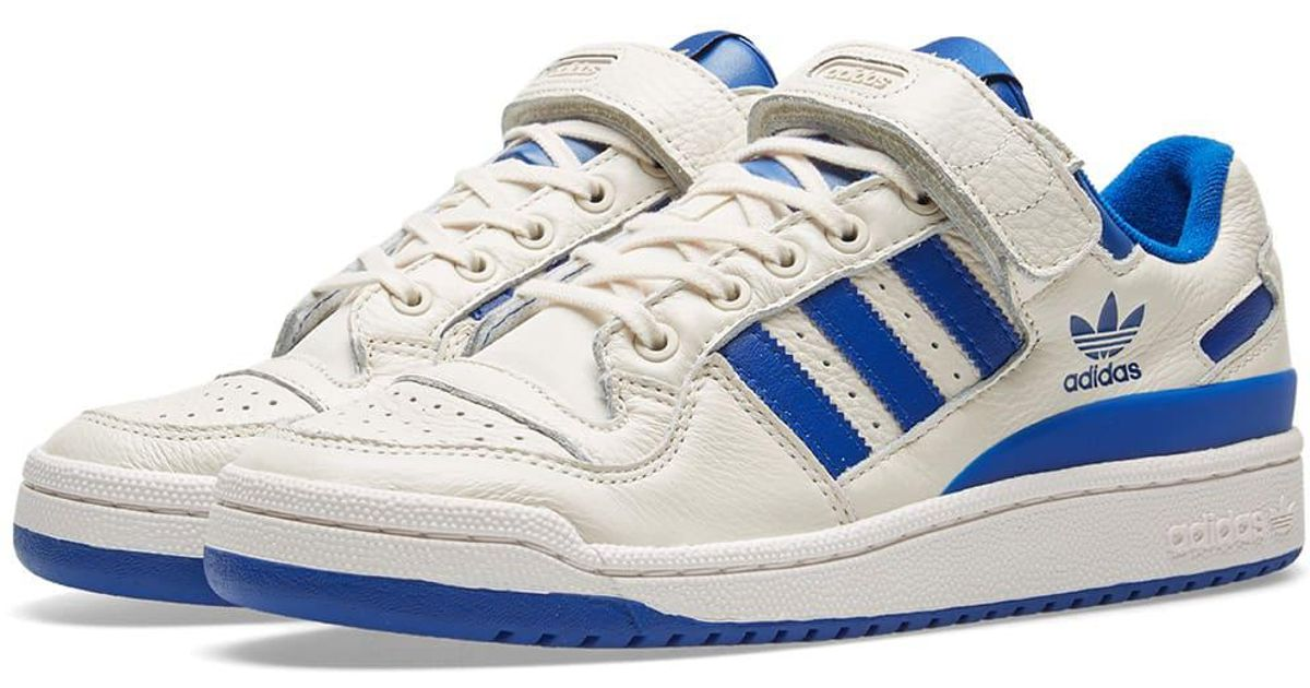 new product b8a64 0de39 Lyst - adidas Forum Low in Blue for Men