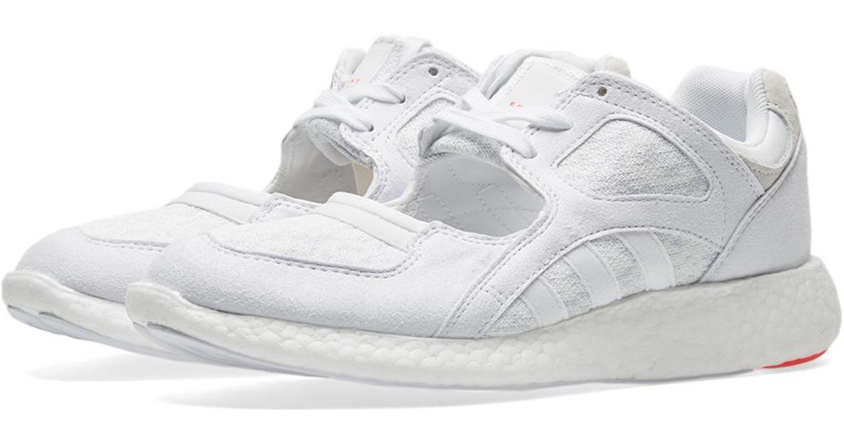 check out 65353 72502 Lyst - adidas Womens Eqt Racing 9116 W in White