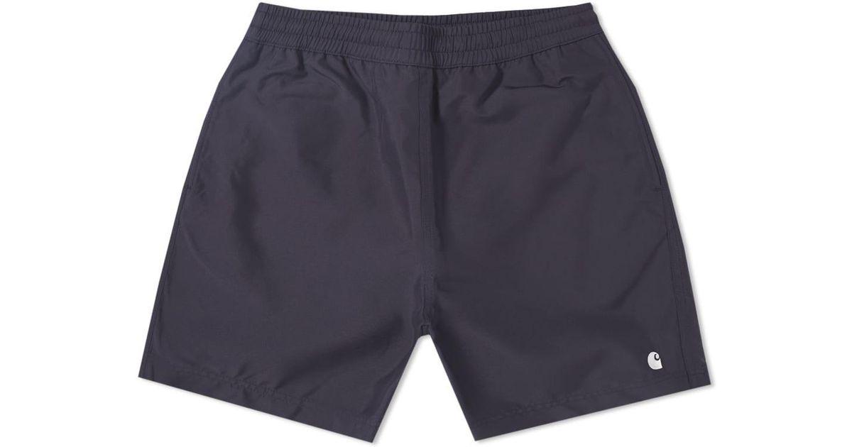 2db1477741 Carhartt WIP Carhartt Cay Swim Short in Blue for Men - Lyst