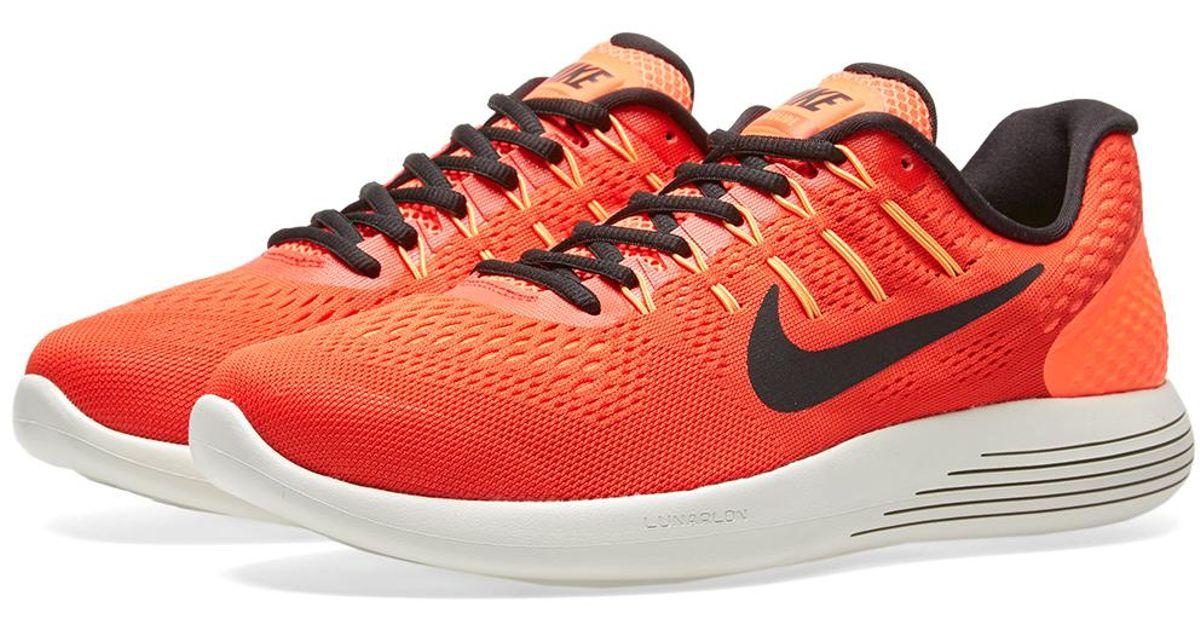 super popular d25ec a3428 Nike Lunarglide 8 in Orange for Men - Lyst