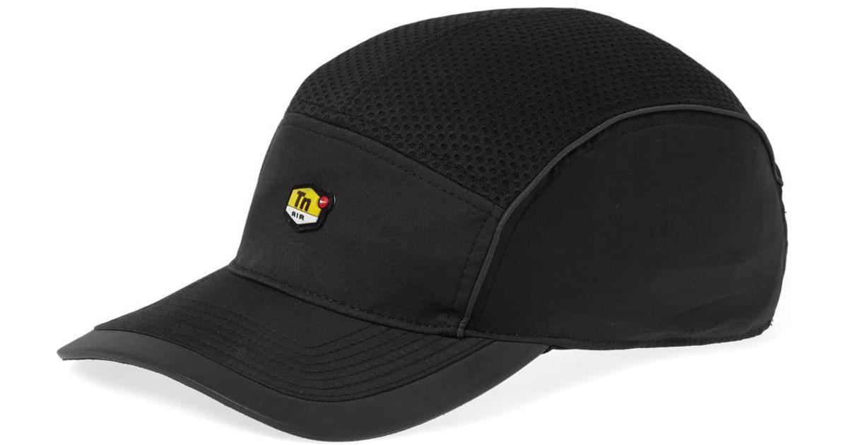 0da44a236f8 Lyst - Nike Tn Air Aerobill Aw84 Cap in Black for Men