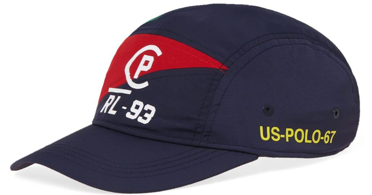 Lyst - Polo Ralph Lauren Americas Cup 5 Panel Cap in Blue for Men 1825f0809dc