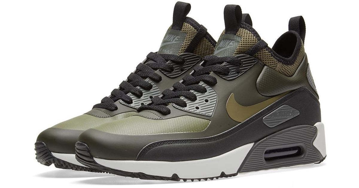 Nike Green Air Max 90 Ultra Mid Winter for Men Lyst