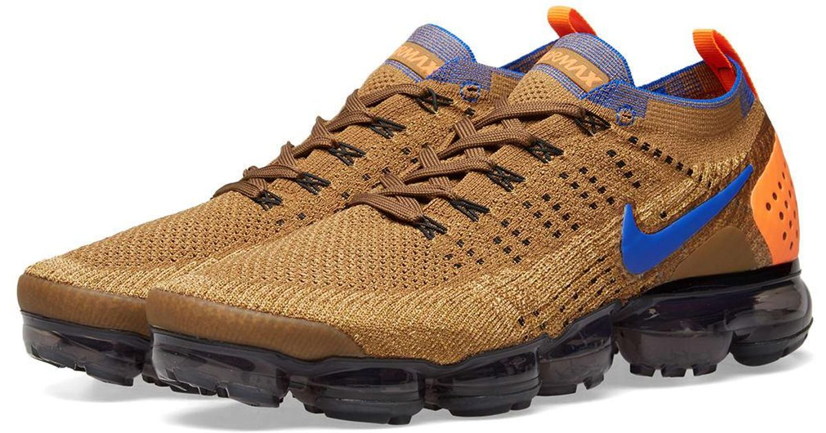 huge selection of e8773 67b6a Nike Air Vapormax Flyknit 2 in Brown for Men - Lyst