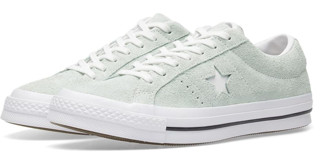 1ad0e60c2f1328 ... sale converse one star ox pastel pack in green for men lyst 26caa ae00f