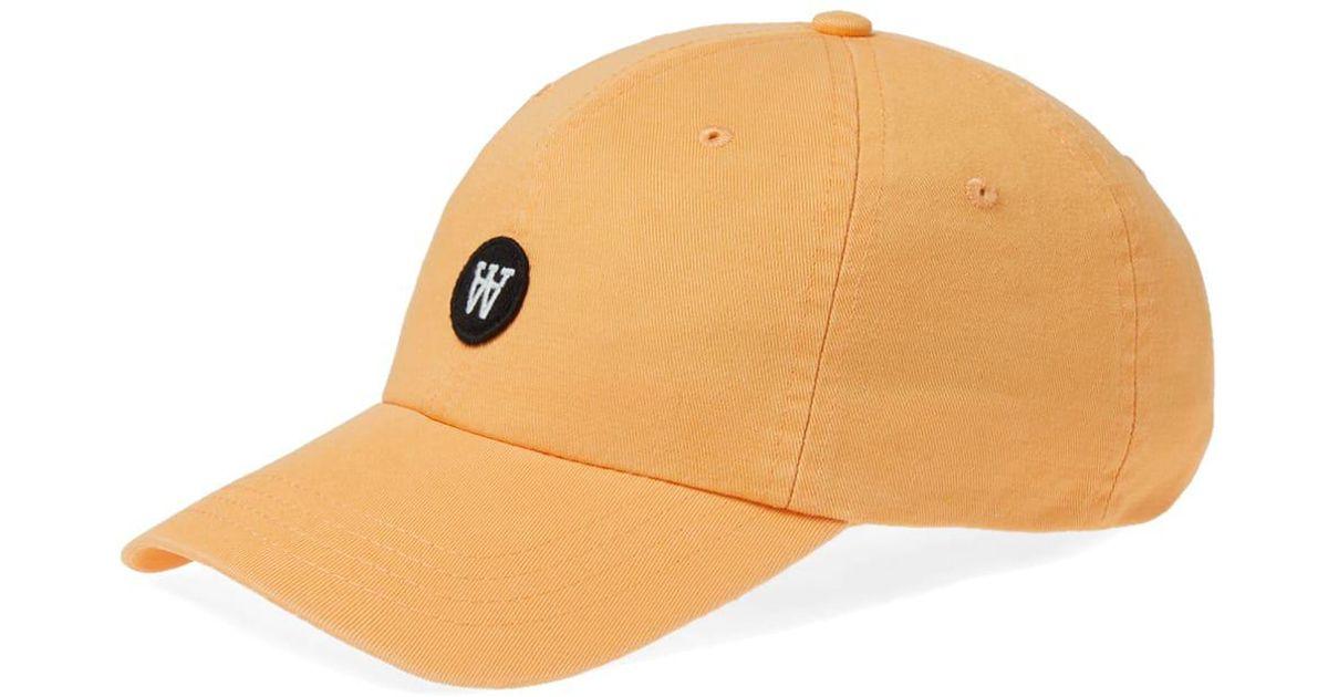 Lyst - WOOD WOOD Eli Cap in Orange for Men 1afec6ab3d76