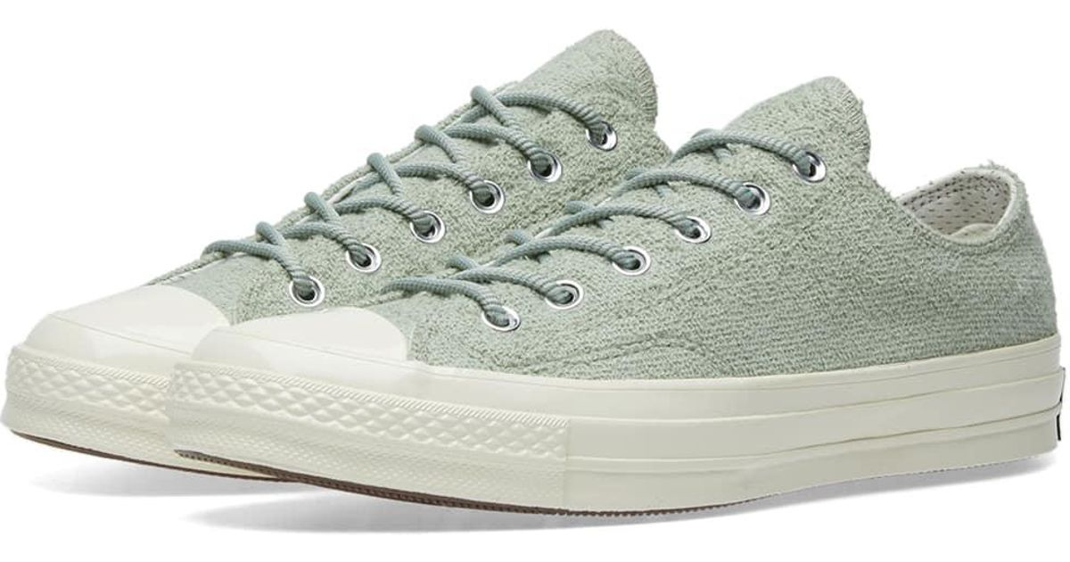 ... sneakers for cheap 7d8e5 4b098 Converse Chuck Taylor 1970s Ox Terry  Pack in Green for Men ... f32cfd876