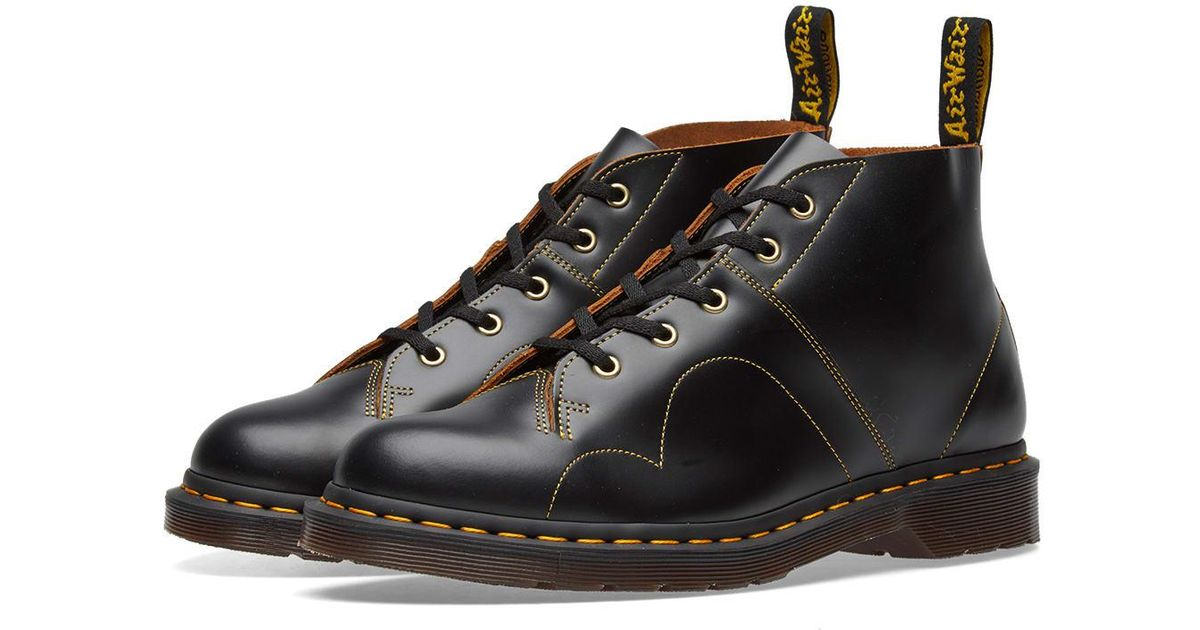 02e039f9989a Lyst - Dr. Martens Dr. Martens Church Monkey Boot in Black for Men