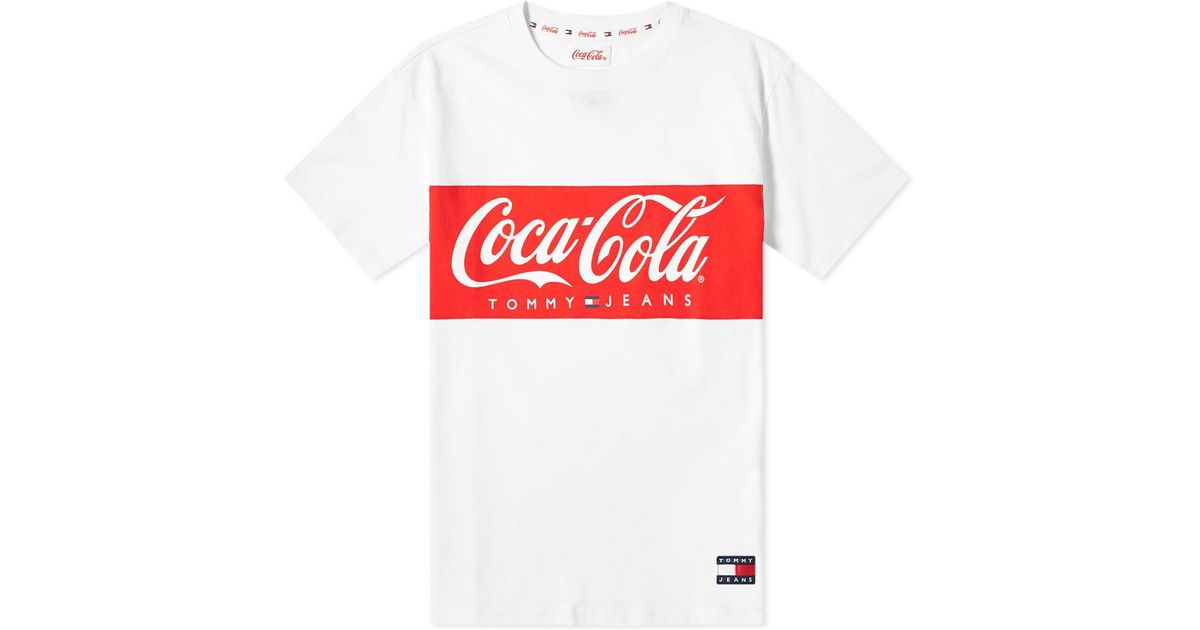 533dad653 Tommy Hilfiger X Coca-cola Tee in White for Men - Save 20% - Lyst