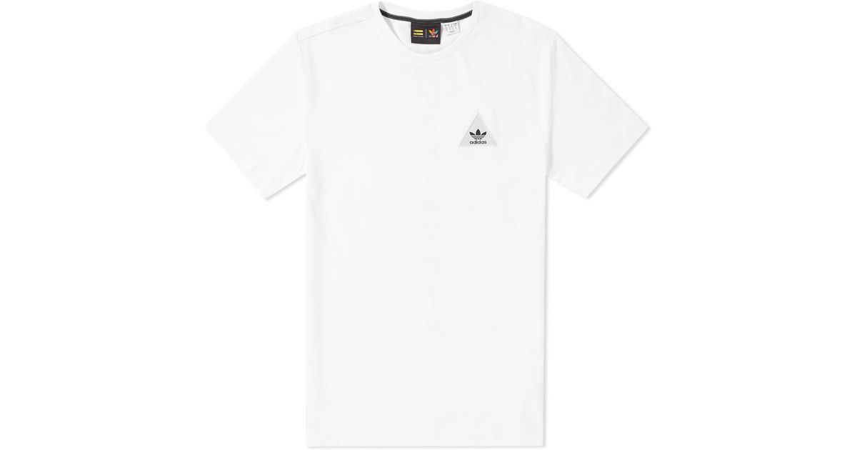 43c83e03d2366 Lyst - adidas Originals X Pharrell Williams Japanese Tee in White for Men