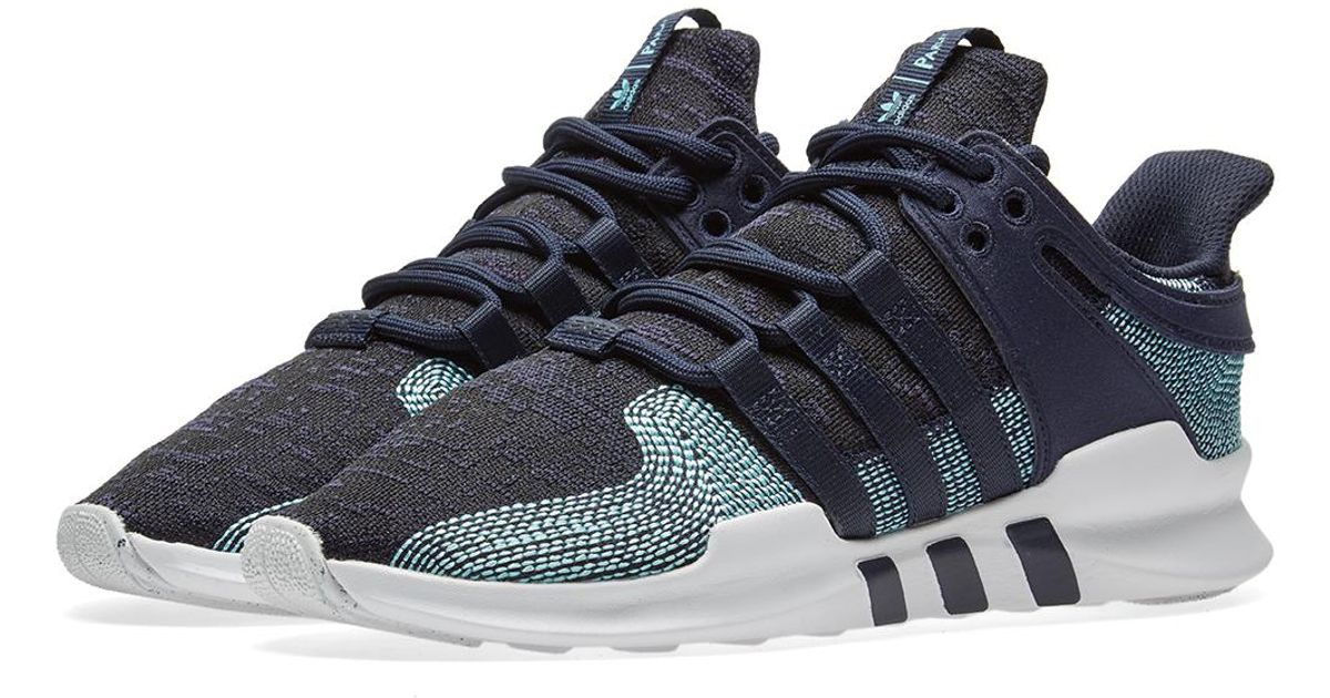 92ff7655f9c4 Lyst - adidas Eqt Support Adv Ck Parley in Blue for Men