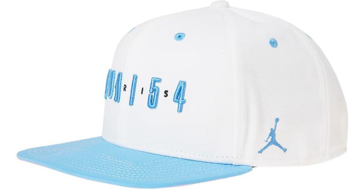 96438d003b4 Nike Air Jordan Snapback 'quai 54' in Blue for Men - Lyst