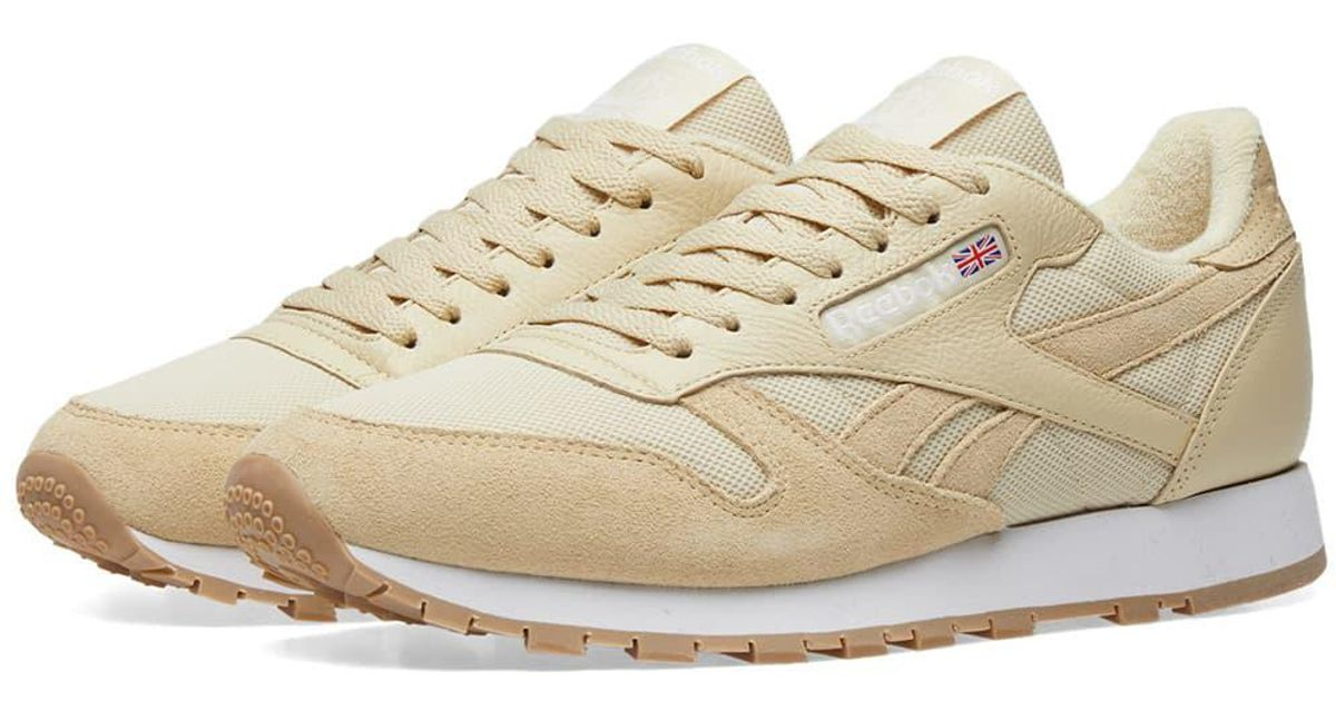 8f8656a1cb8d Lyst - Reebok Essential Pastel Classic Leather for Men
