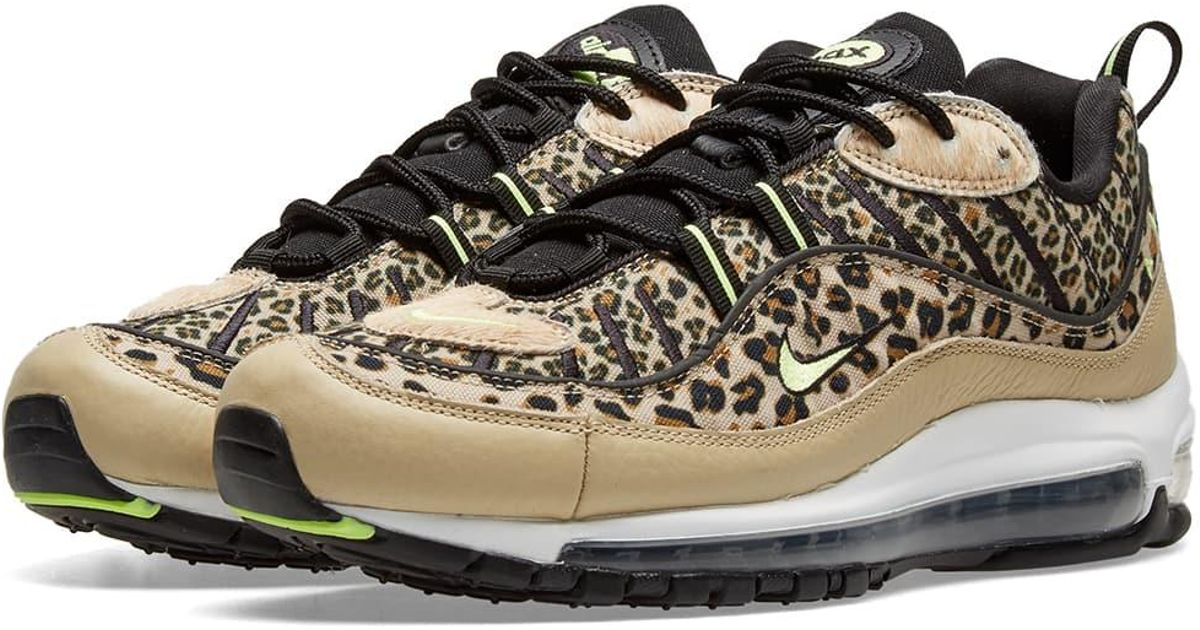 9883919167 Nike Air Max 98 Premium W 'animal Pack' in Brown - Lyst