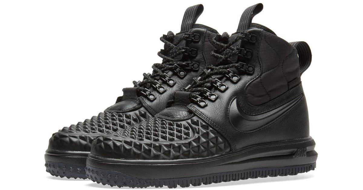 ea88ffa0a871 Lyst - Nike Lunar Force 1 Duckboot W in Black for Men