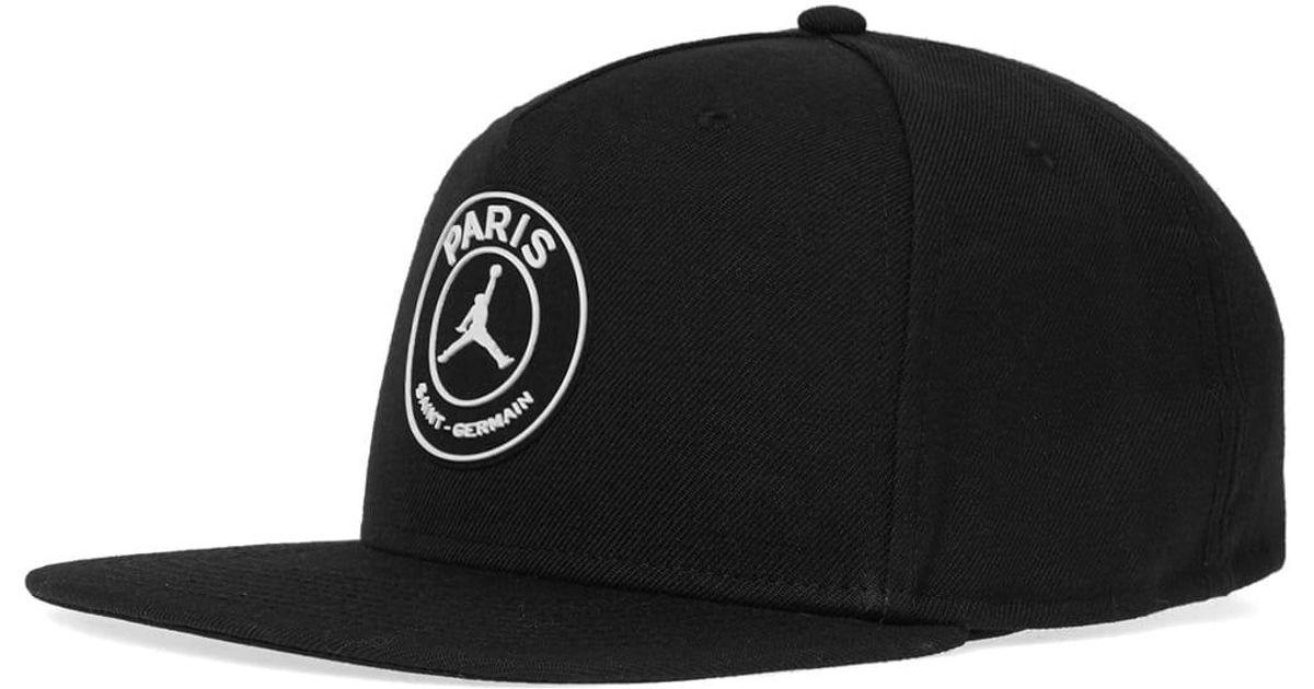 fe4ded75927d4c Lyst - Nike Jordan X Paris Saint-germain Pro Cap in Black for Men
