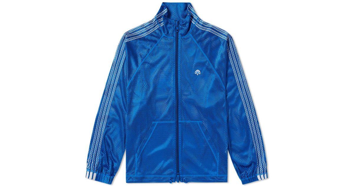 Alexander Wang Blue Adidas Originals By Alexander Wang Mesh Track Top for men