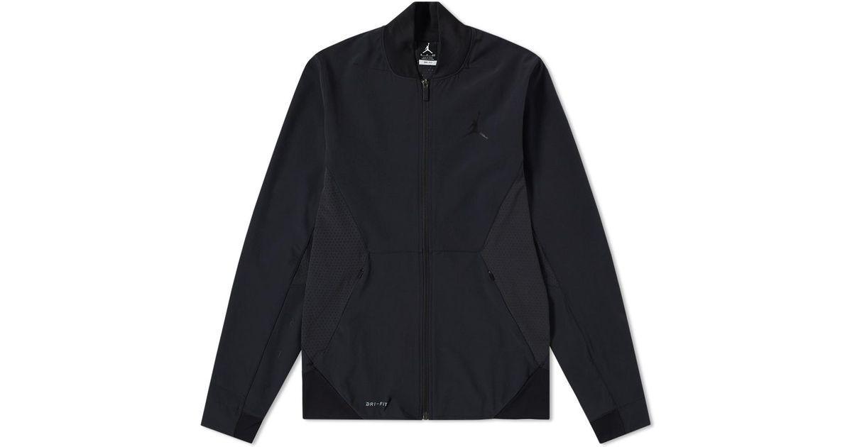 5f2b9bc436db58 Lyst - Nike Nike Jordan Ultimate Flight Basketball Jacket in Black for Men