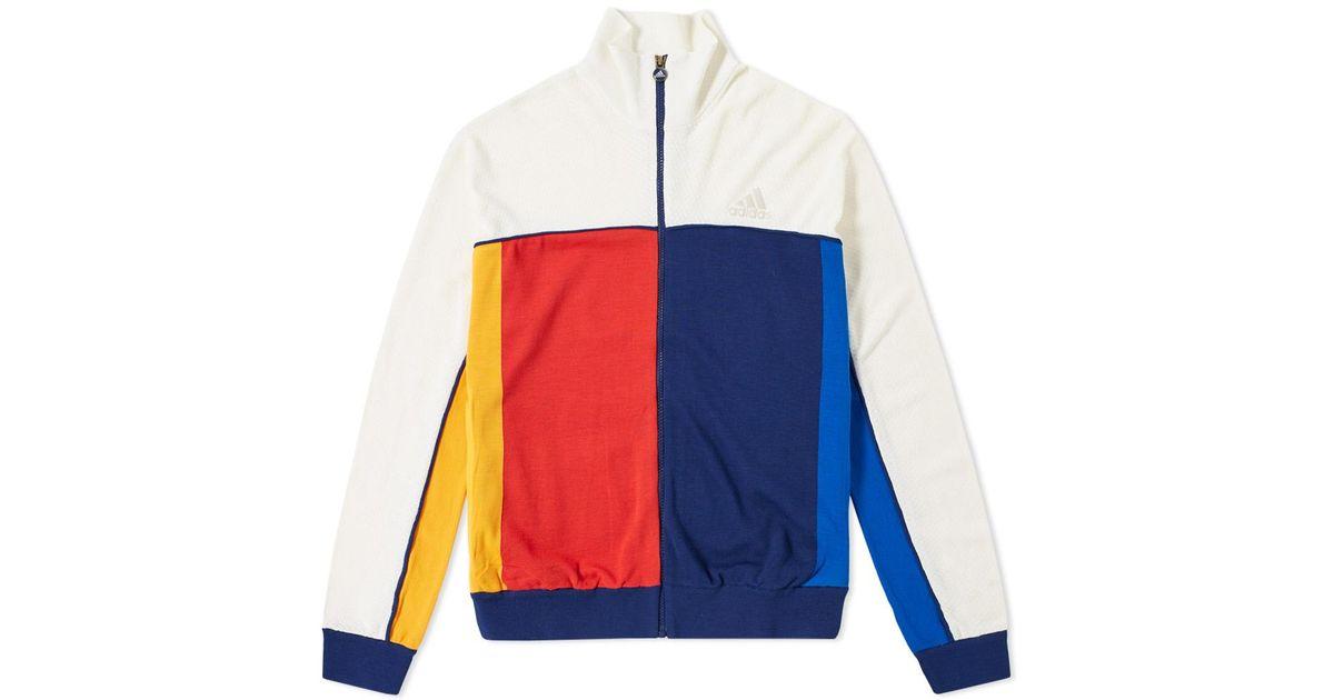 eb982c406 Lyst - adidas Originals Adidas X Pharrell Williams Us Open Jacket in White  for Men