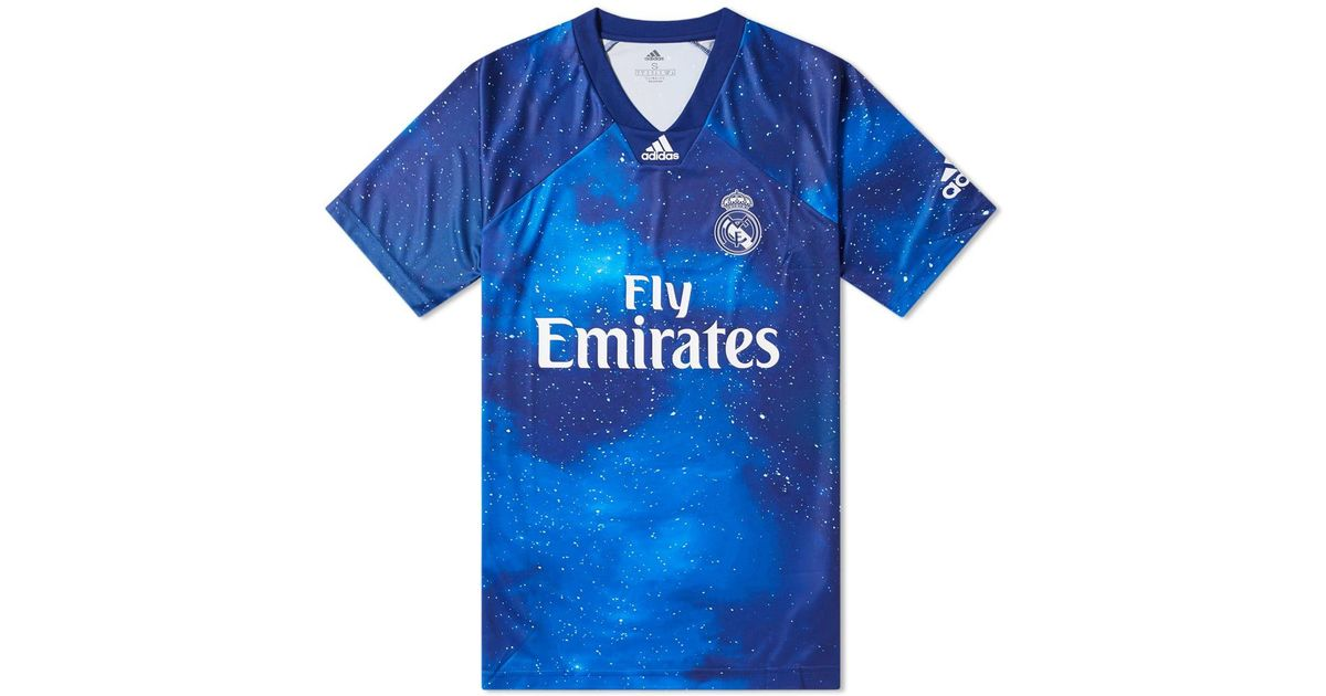 super popular fa7f2 da240 Adidas Originals - Blue Real Madrid Football Jersey for Men - Lyst