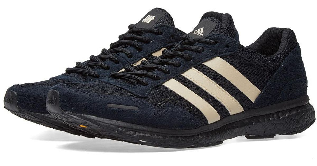 first rate b0ba1 24ce1 Lyst - adidas X Undefeated Adizero Adios 3 in Black for Men