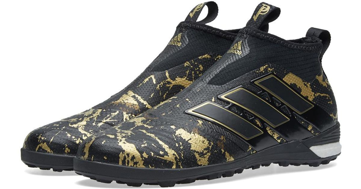 meet 1f46b b60ce Lyst - adidas Originals X Paul Pogba Ace Tango 17+ Purecontrol Tf in Black  for Men