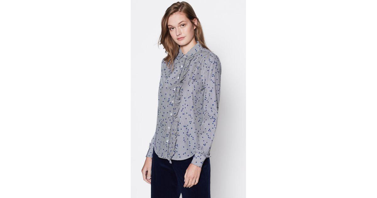 25b13d208a385a Equipment Jesper Cotton Shirt in Blue - Lyst