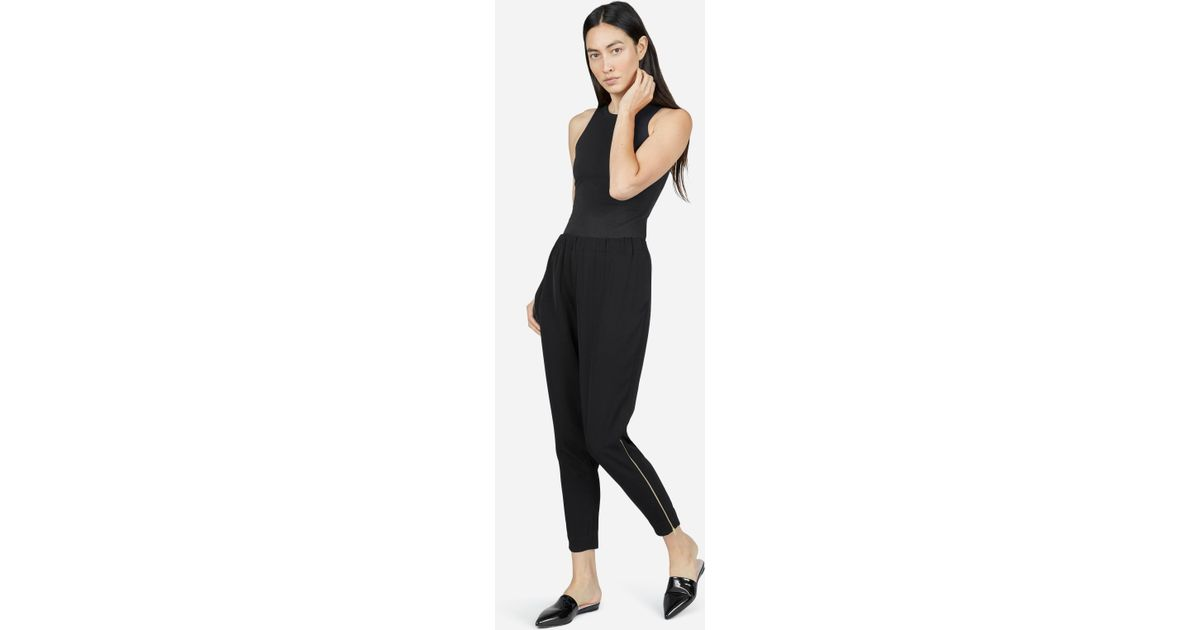 a92341c0aae Everlane The E2 Japanese Goweave Pant in Black - Lyst