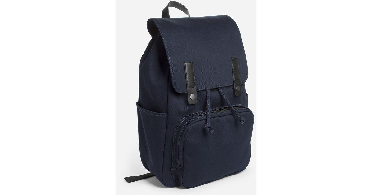 77c4beaa19 Lyst - Everlane The Modern Snap Backpack in Blue for Men