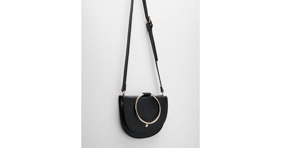 ac6958857b Express Melie Bianco Felix Crossbody Bag in Black - Lyst