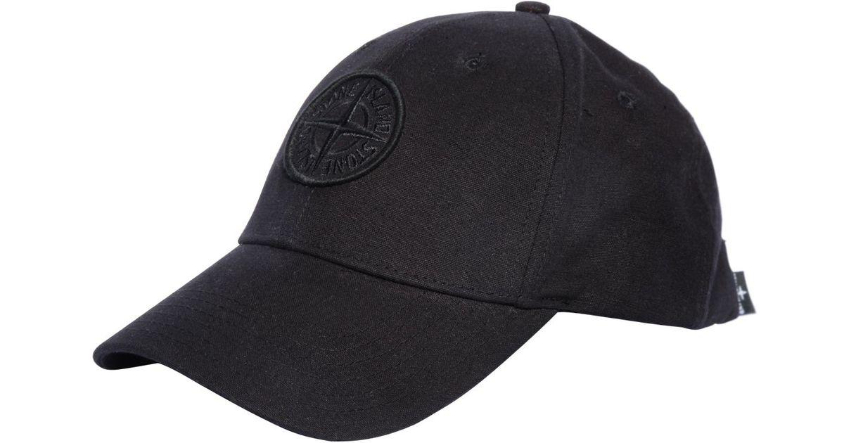 embroidered logo baseball cap Stone Island pWUaTHLHP