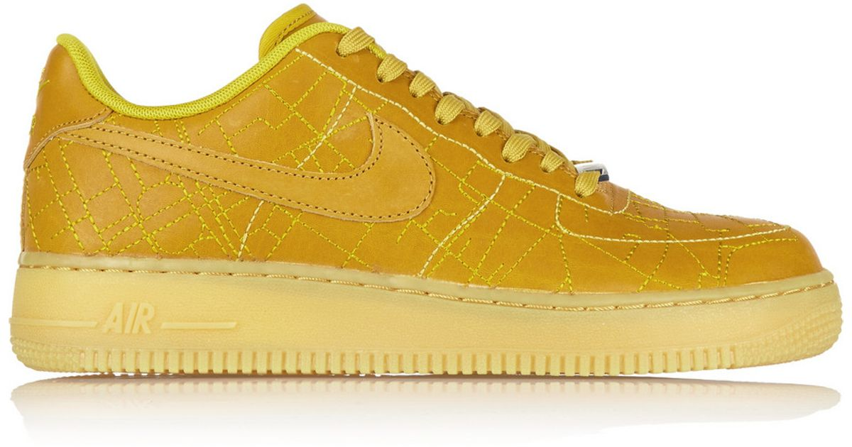 nike air force 1 yellow