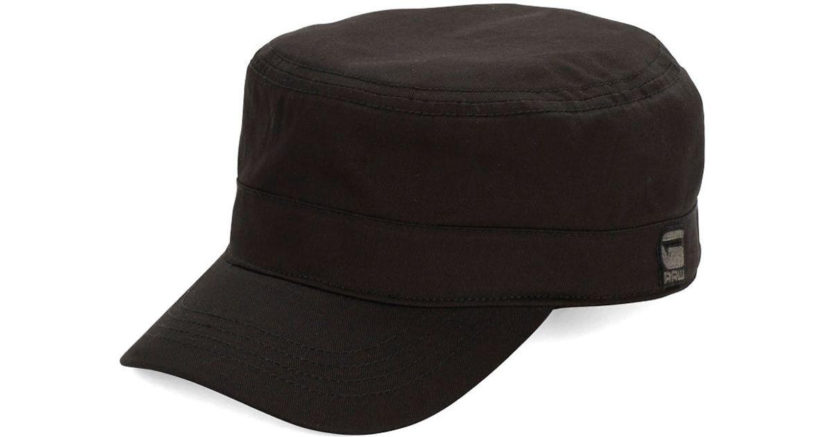 978166ca G-Star RAW Original Duty Cap in Black for Men - Lyst