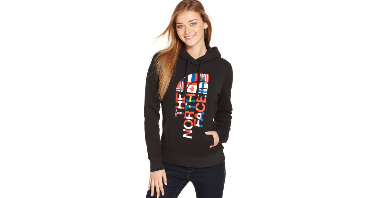 The North Face International Collection Hoodie In Black Lyst
