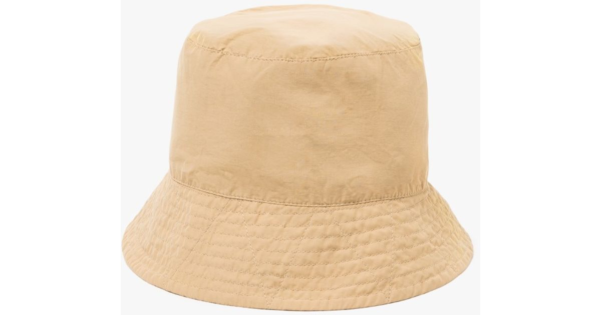 bed19664c3d97 Lyst - Engineered Garments Khaki Nyco Poplin Bucket Hat in Natural for Men