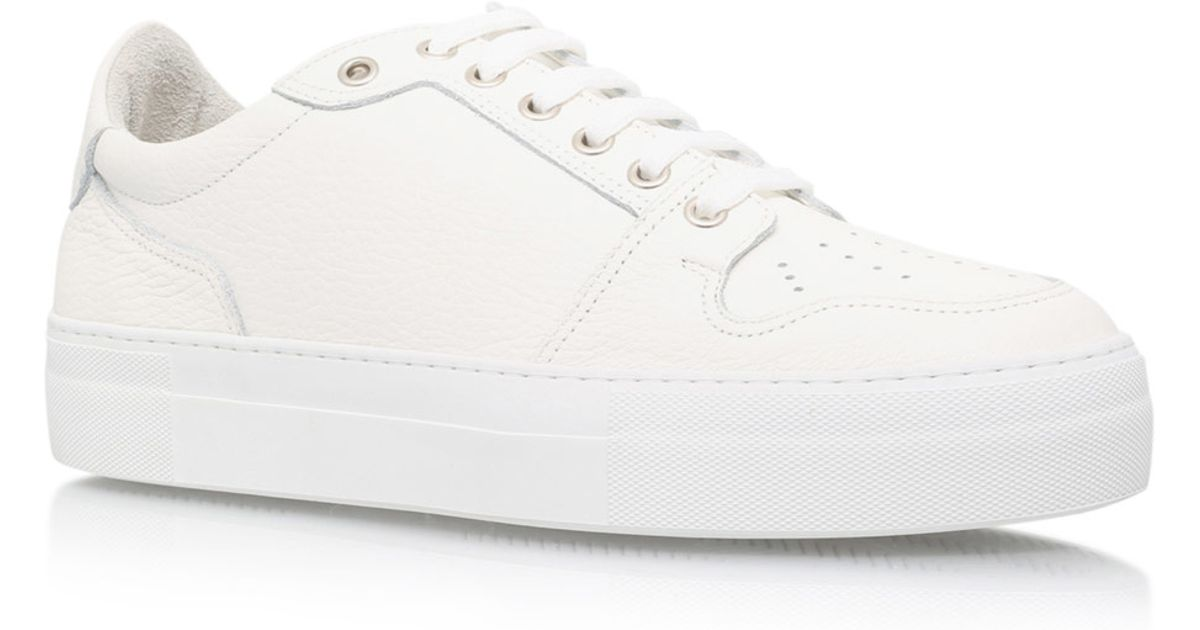 Lyst - AMI White High Sole Trainers in White for Men 2887b8755