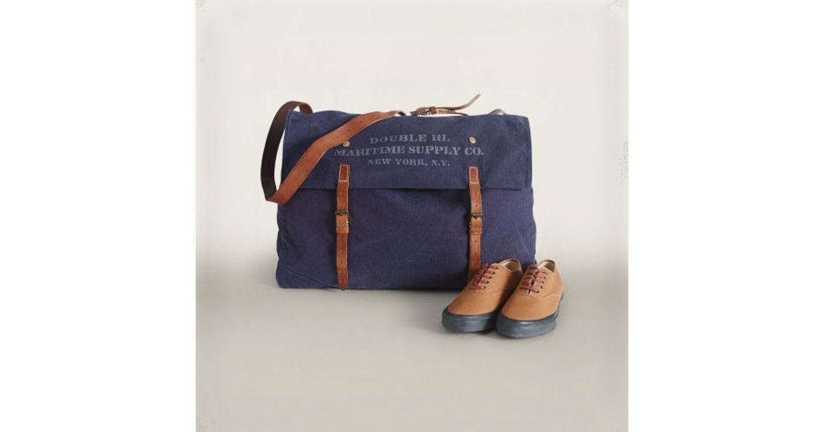 8520766d64 Lyst - RRL Eastport Bag in Blue for Men