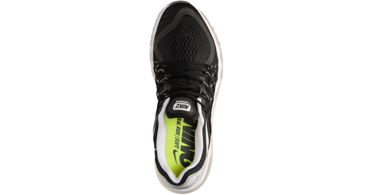 online retailer b7a35 a531a Lyst - Nike Women S Air Max 2015 Running Sneakers From Finish Line in Black