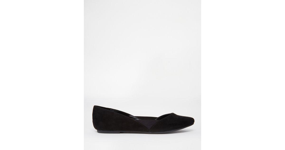 0720f39e1267 Lyst - Call It Spring Unierwen Black Flat Ballerina Shoes in Black