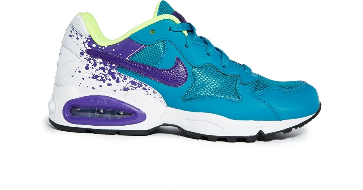 new products e7a51 ff2d4 Nike Air Max Triax 94 Blue Trainers in Black - Lyst