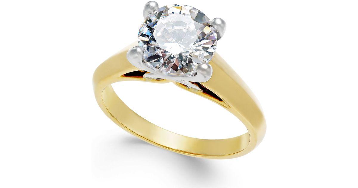 x3 certified engagement ring in titanium 2 ct t