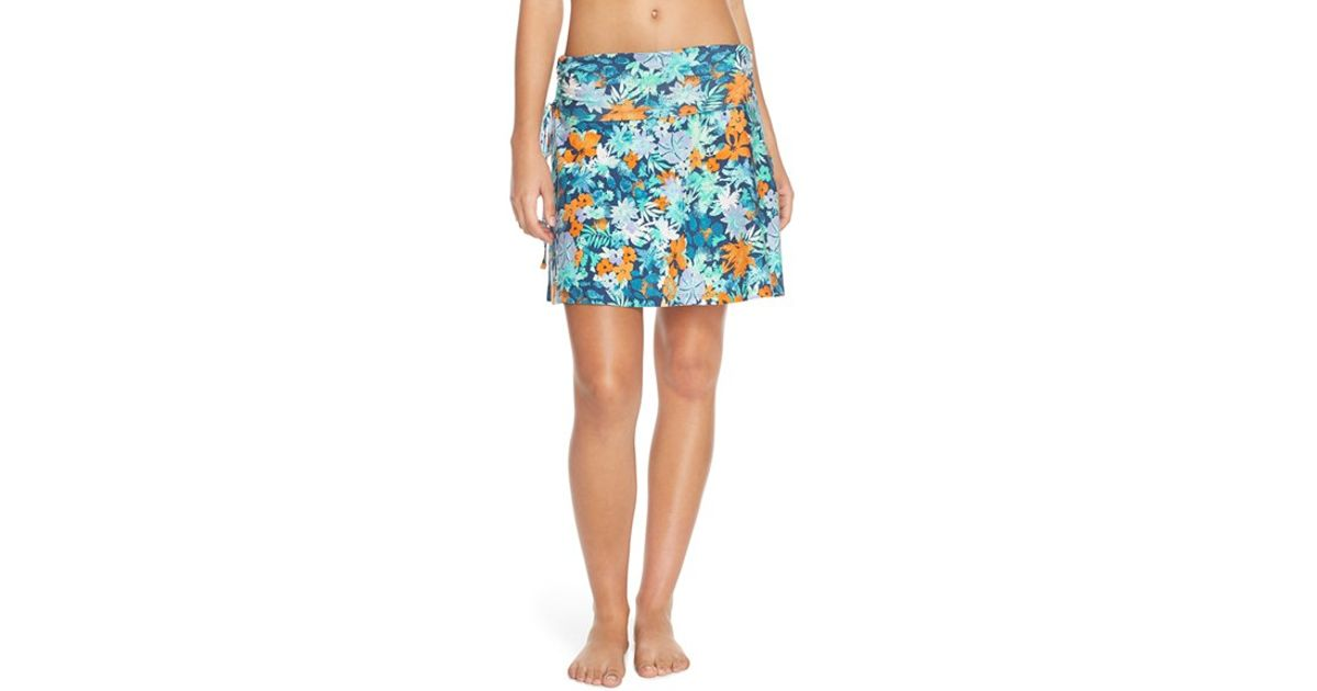 3879a22ce4 Lyst - Patagonia 'lithia' Cotton Blend Skirt
