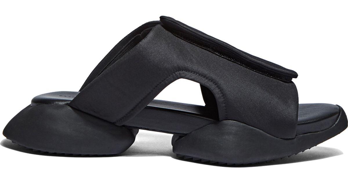 4ba567768c9a1 Lyst - Rick Owens X Adidas Men s Velcro Strap Ro Clog Sandals In Black in  Black for Men