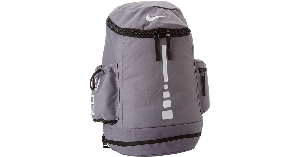 2e6b6b2fb3b Lyst - Nike Hoops Elite Team Backpack in Gray for Men