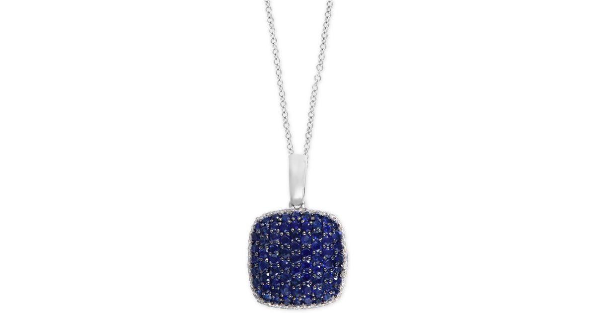 Effy collection Royal Bleu By Effy Sapphire (1-1/2 Ct. T.w ...