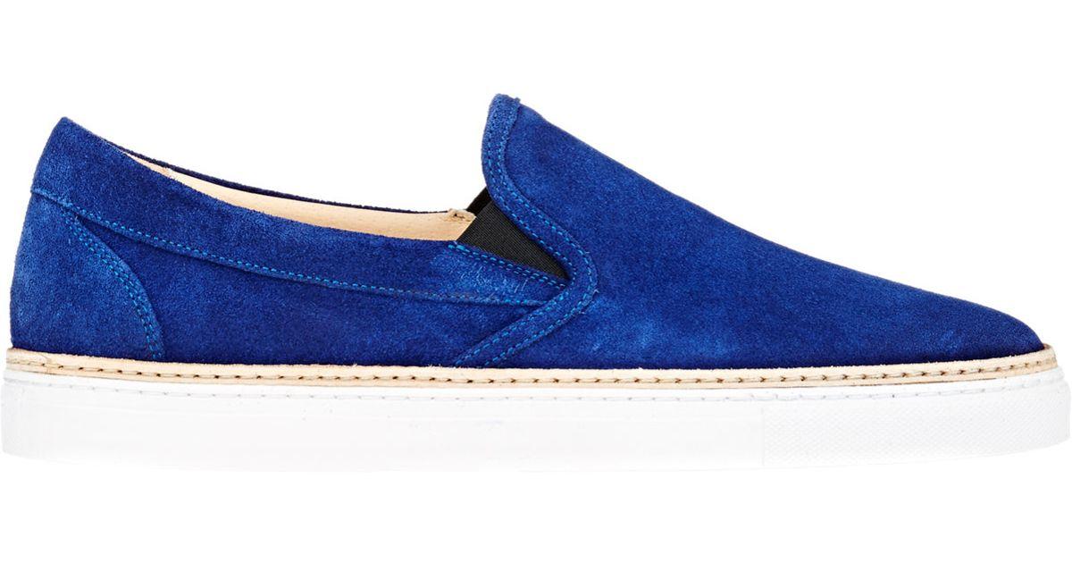 Mens Crepe-Sole Leather Sneakers Barneys New York nr882FLJ