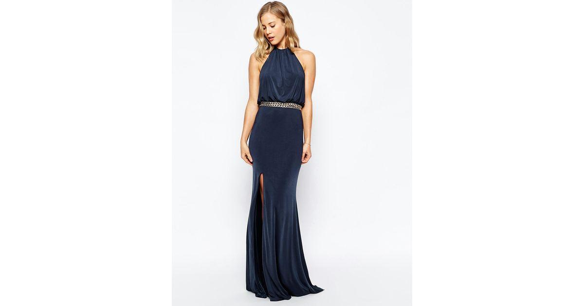 d433265149d Allover Lace Applique Top Maxi Dress  Lyst mango embellished maxi ...