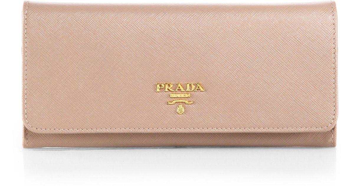 Prada Saffiano continental wallet Iop0QzCR