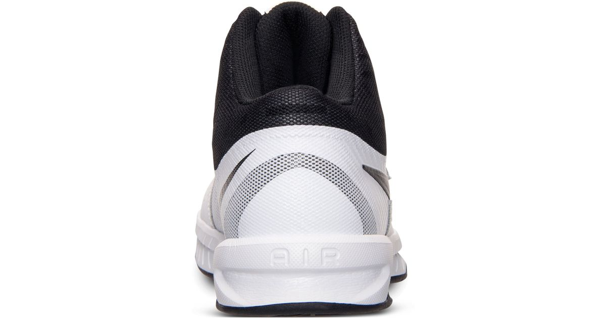 5a543ec1a79c Nike Men s Air Visi Pro Vi Basketball Sneakers From Finish Line in Black  for Men - Lyst