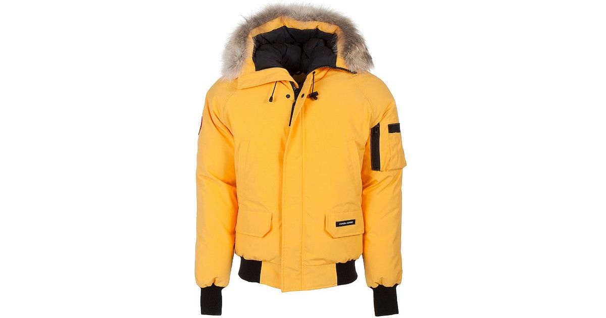 cheap canada goose chilliwack bomber men yellow